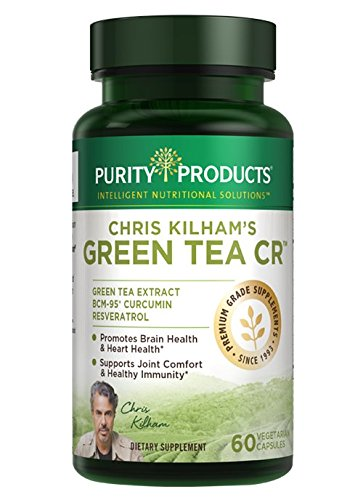 Green Tea CR (Green Tea + Curcumin + Resveratrol) - 60 Vegetarian Capsules - 30 Day Supply - from Purity Products