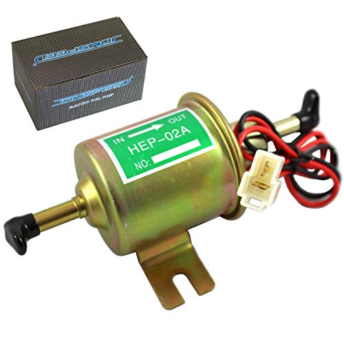 JDMSPEED Universal 12V Heavy Duty Electric Fuel Pump Metal Solid Petrol 12 Volts Auto Fuel Pump Problems