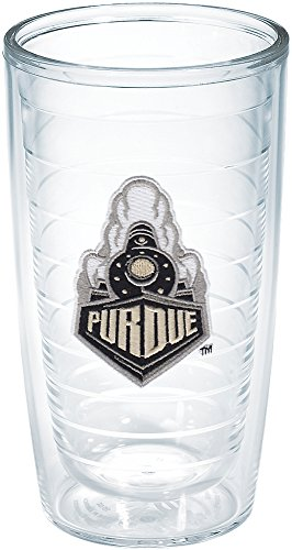 (Tervis Purdue University Train Emblem Individual Tumbler, 16 oz, Clear - 1204032)