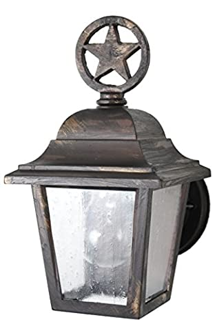 Melissa Lighting Outdoor Wall Mount LS1739 Western from Lone Star Series Collection in (Lone Star Porch Light)