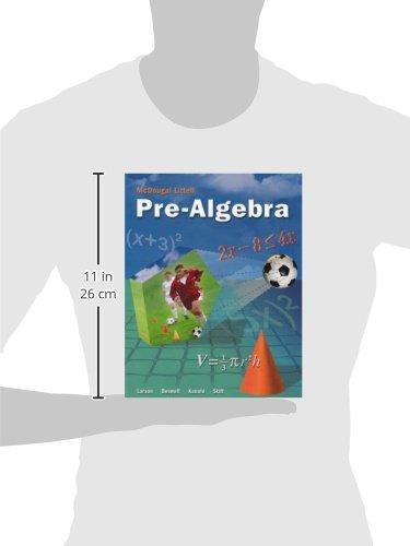 McDougal Littell Pre-Algebra: Student Edition 2005