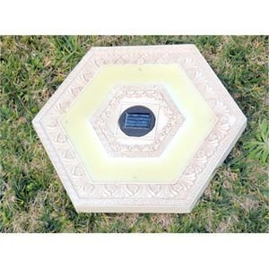 Outdoor Lighted Stepping Stones - 5