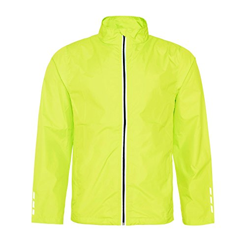 AWDis XS Womens Yellow Jacket Lightweight Fit Running Cool 2XL Electric Comfort rFv5gnr0