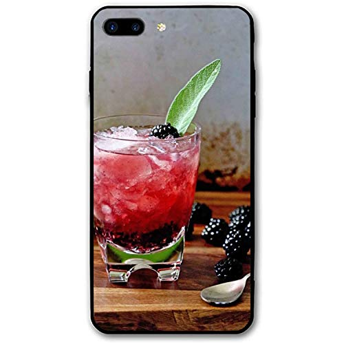 iPhone 8 Plus Case, iPhone 7 Plus Case, Cocktail Printed Anti-Scratch Compatible iPhone 7 Plus/8 Plus -