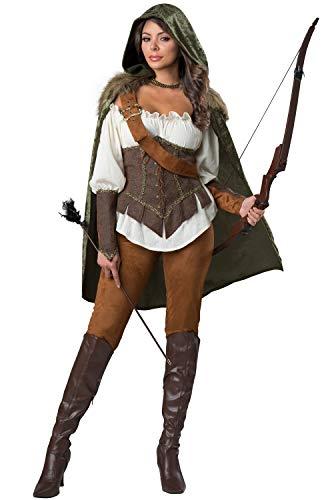 InCharacter Enchanted Forest Huntress Adult Costume-Medium -