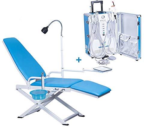 [해외]Greeloy Portable Folding Chair with Portable Turbine Unit Moblie Air Compressor Unit System / Greeloy Portable Folding Chair with Portable Turbine Unit Moblie Air Compressor Unit System