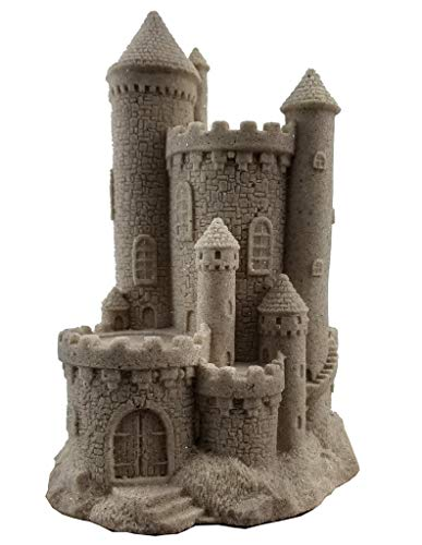"Mr. Sandman Sand Castle Figurine Collectible Beach Home Decor Sandcastle 719 8"" Tall (Natural)"
