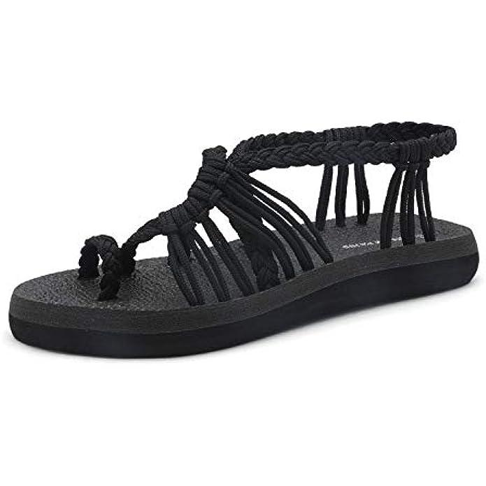 DREAM PAIRS Women's Flat Sandals