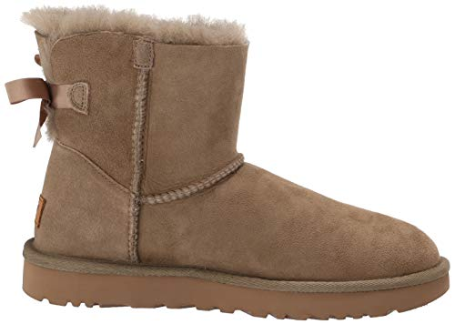 For Beige Ii Women 38 Bow Ugg Botin Mini Bailey 8xqUvxwXH