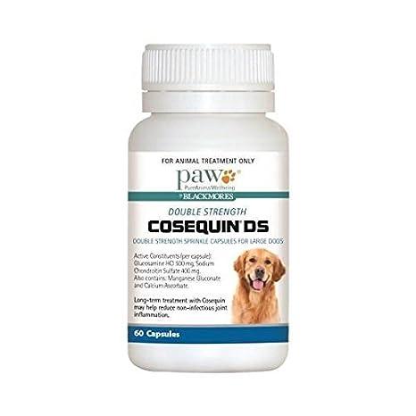 Pure Animal Wellbeing PAW Cosequin DS Capsules 60: Amazon.es: Productos para mascotas