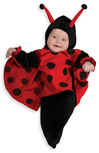 Rubie's Deluxe Baby Bunting, Lady Bug Costume, 0 to 9 Months