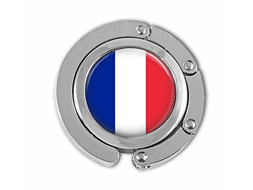 French flag themed purse hook. -