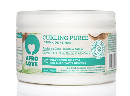 ddc7145cd Amazon.com  Afro Love Curling Puree 8 oz  Beauty