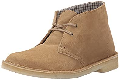 Excellent Clarks Womens Loden Green Suede Desert Boots | Amazon.com