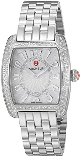 MICHELE-Womens-Deco-II-Swiss-Quartz-Stainless-Steel-Casual-Watch-ColorSilver-Toned-Model-MWW06I000001