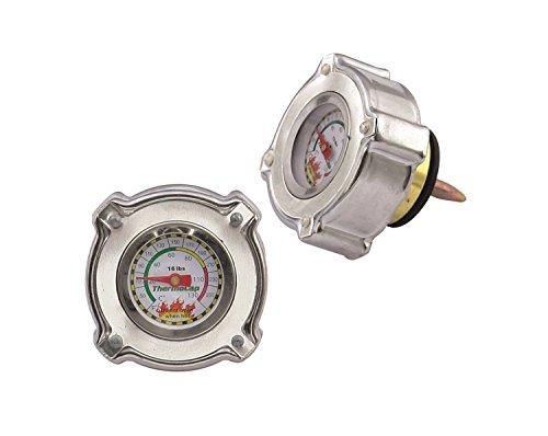 Mr. Gasket 2473S  Import ThermoCap 16 PSI-SLVR
