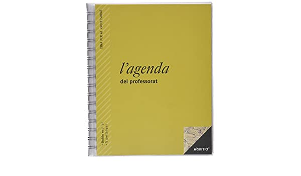 Amazon.com : italoagendas P211 - Agenda Teacher ...