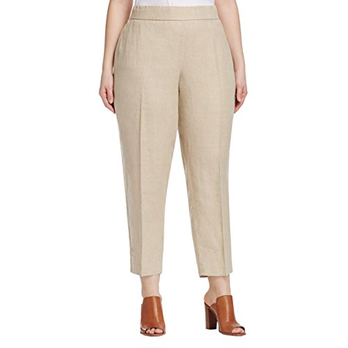 Linen Ankle Pants - 3