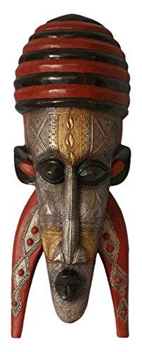 NOVICA 155654 My Teacher Ghanaian Wood Mask