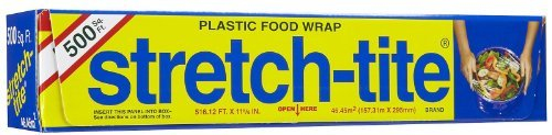 Wrap Stretch Tite Food (Stretch-Tite Premium Plastic Food Wrap, -2 pack)
