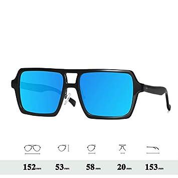 LKVNHP Gafas De Sol De Gran Tamaño De Los Hombres ...