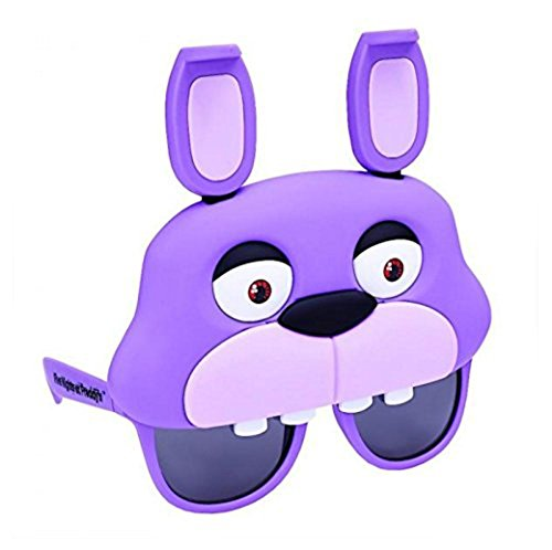 Sunstaches Officially Licensed Freddy Bonnie Bunny - Bonnie Costume For Sale