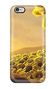 New Premium Sun Flower World Hd Skin Case Cover Excellent Fitted For Iphone 6 Plus