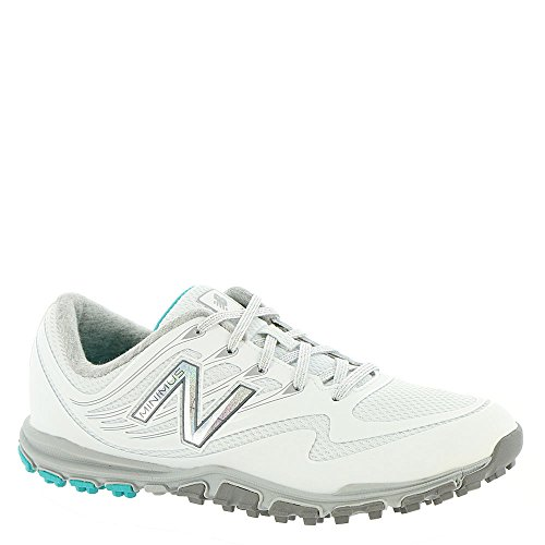 New Balance Women's Minimus Sport Golf Shoe, White, 8.5 B B US