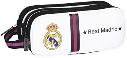 Safta 811457635 - Portatodo Triple Real Madrid C.F.: Amazon.es: Equipaje