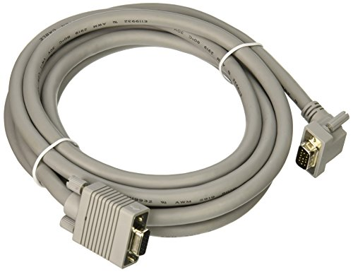 (C2G/Cables to Go 52010  Premium Shielded HD15 M/F SXGA Monitor Extension Cable   (10 Feet,Gray))