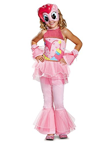 Pinkie Pie Movie Deluxe Costume, Pink, X-Small