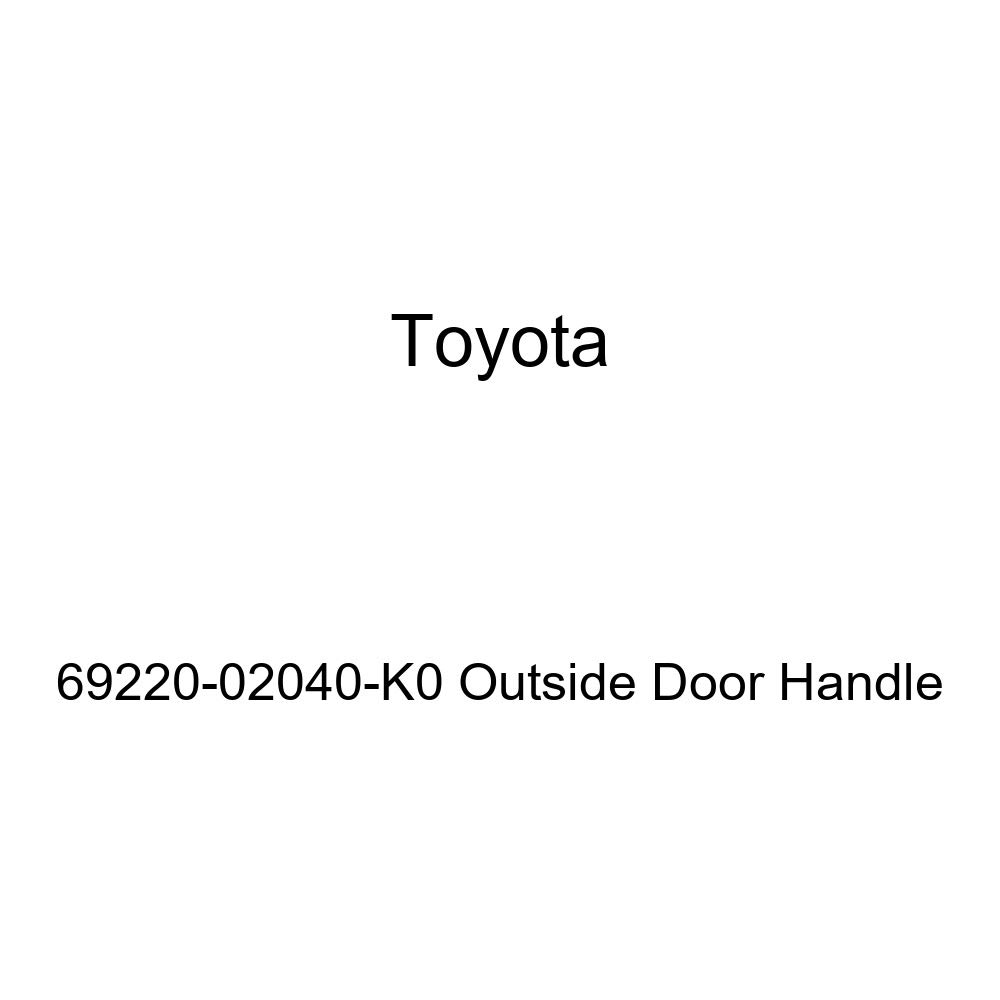 Toyota 69220-02040-K0 Outside Door Handle