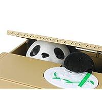 PANDITA ROBAMONEDAS ALCANCIA MI Travieso PANDITA Saving Box , FACIL DE Usar, PANDITA Travieso con Sonidos, Ideal para Ahorrar Monedas PANDITA Best Seller