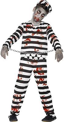 NET TOYS Disfraz Infantil Prisionero - S, 4 - 6 años, 115 - 128 cm ...