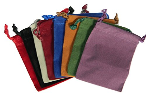 Nonbranded 8 Small Dice Bags 3 x 4 in Assorted