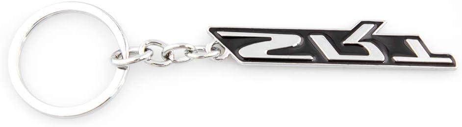 Black KKY-Best 1Pc 3D SRT Emblem Metal Key Chain for Dodge Jeep Key Ring