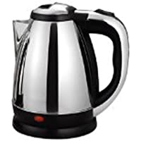 VEU Stainless Steel Electric Kettle 1.8 L (Silver:Black)| with Auto Cut-Off Feature