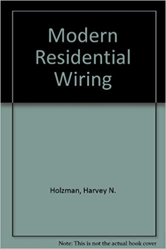 Magnificent Modern Residential Wiring Harvey N Holzman 9781566379151 Amazon Wiring Digital Resources Indicompassionincorg