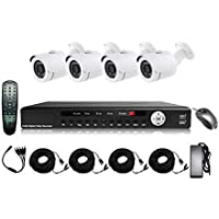 CCTV AHD 1 Mega Pixels Camera Kit