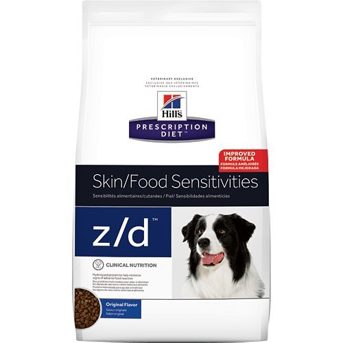 Hill's Prescription Diet z/d Original Skin Food Sensitivities Dry Dog Food 17.6 lb