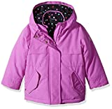 Osh Kosh Girls' Big 4 in 1 Heavyweight Systems Jacket, Purple, 7/8