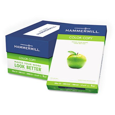 """Product of Hammermill Color Copy Paper with 100 Brightness, 28-lb, 11"""" x 17"""", 500 ct. - Photo White - All Paper & Printable Media [Bulk Savings]"""