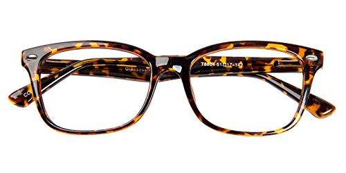 Glassesshop Vintage Tortoise Hyannis Rectangle Eyeglasses Frame