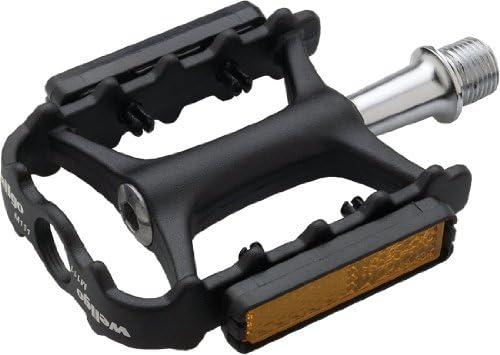 "SILVER Wellgo BMX bicycle aluminum platform pedals 1//2/"" FOR ONE PIECE CRANKS"