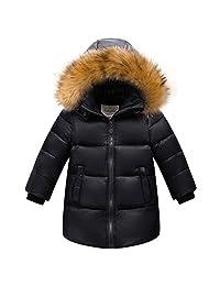 Shengdilu Kids Big Boys' Down Puffer Jacket Parka Coat Hood Outwear Outfit