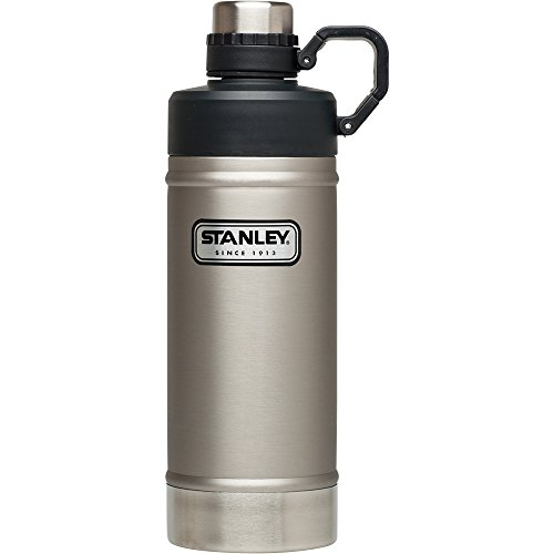 Stanley Classic Vacuum Water Bottle, Stainless Steel, 25 oz (Bottle Classic Vacuum Stanley)