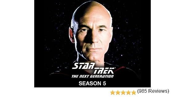 Amazon Star Trek The Next Generation Season 5 Patrick Stewart Jonathan Frakes Levar Burton Brent Spiner Michael Dorn Marina Sirtis