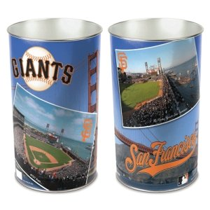 - WinCraft MLB San Francisco Giants 15 Waste Basket, Team Color, One Size