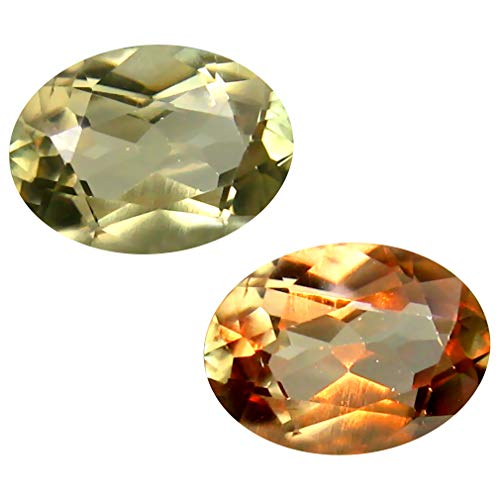 Deluxe Gems 1.80 ct Oval Cut (9 x 7 mm) Unheated/Untreated Turkish Color Change Diaspore Natural Loose Gemstone
