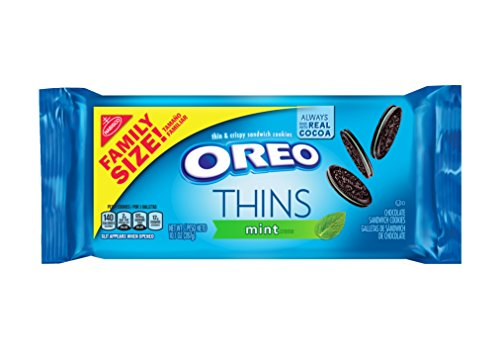 Oreo Thins Chocolate Sandwich Cookies - Family Size, 13.1 Ounce ()